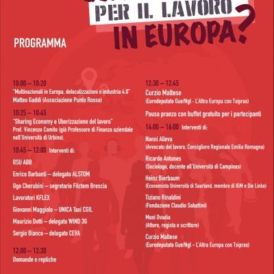 lavoro europa 22/04/17 milano