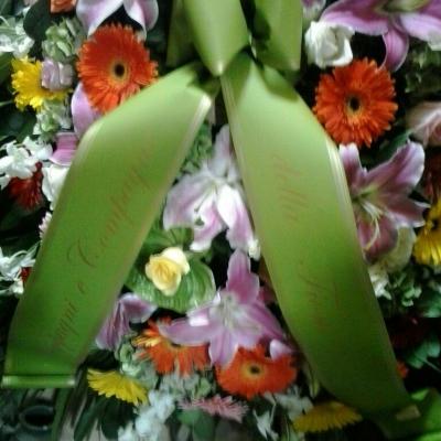 fiori tomba claudio